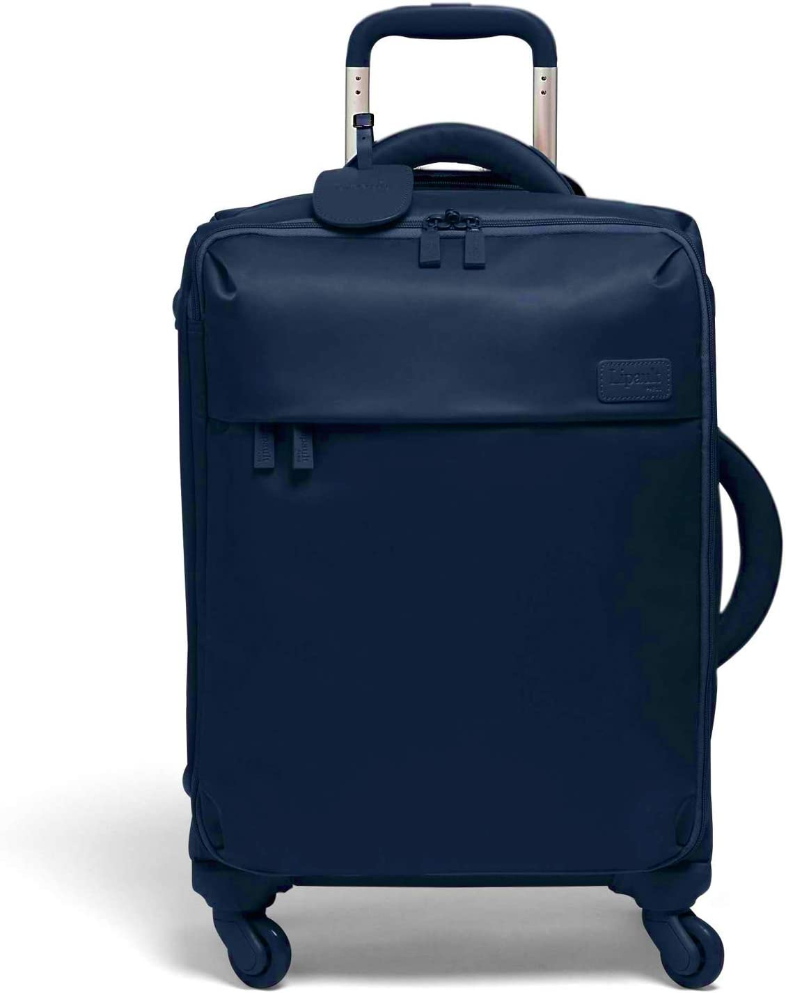 Original Plume Spinner 55//20 Luggage Navy Carry-On Rolling Bag for Women Lipault