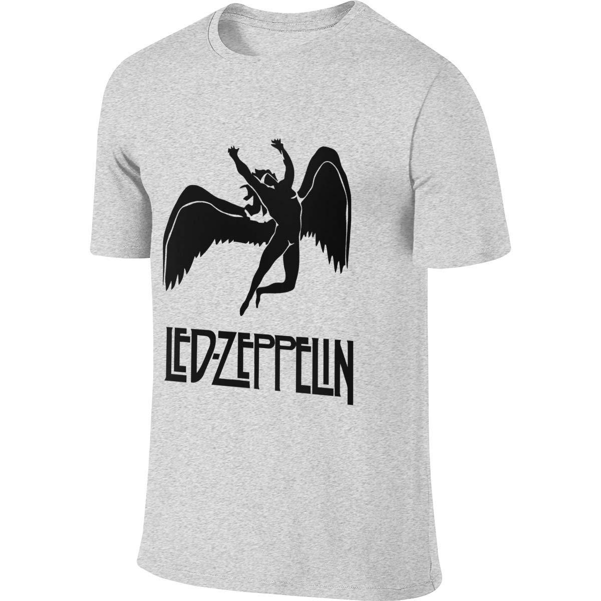 Hengteng Mens Personalized Classic Tee Shirt Led Zeppelin T-Shirts