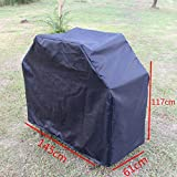 Coohole New Heavy Duty BBQ Grill Barbecue Cover Garden Patio Protector Outdoor Waterproof (57'' x 24'' x 46'')