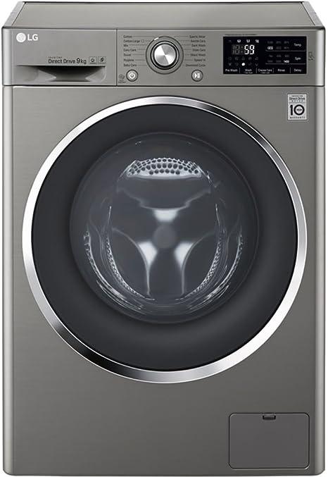 Lg lavadora carga frontal inox 9kg fh4u2vdn6: Amazon.es: Grandes ...