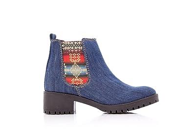 Bottines Denim Desigual Chaussures Femme 17wsafc5 Charly VqGUzMSpL