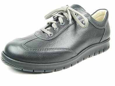 Finn Comfort Mens Kiruna Black Nubuck Shoes 43 EU 3HeJaQu