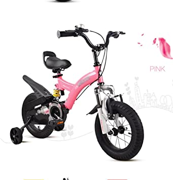 BaoKangShop Bicicletas Bicicletas para Niños 2-4-6-7-8-9-10 Año Viejo Niño y Niña Cochecito de bebé Pedal Bicicleta: Amazon.es: Deportes y aire libre