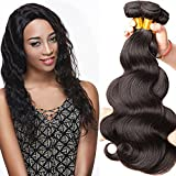 Rechoo 7A Grade 3 Bundles 300g Brazilian BODY WAVE Remy Hair Weave Unprocessed Extensions Natural Black Can Be Dyed and Bleached Tangle Free 14″16″18″ Review