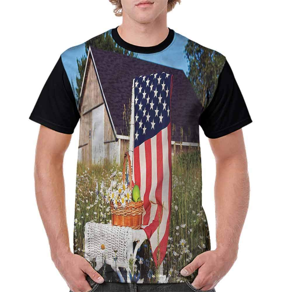 BlountDecor Trend t-Shirt,Woman Miner Idaho Flag Fashion Personality Customization