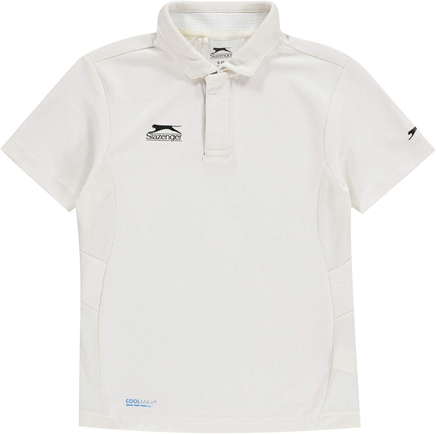 Maglietta a Maniche Corte da Ragazzo Slazenger Aero Cricket