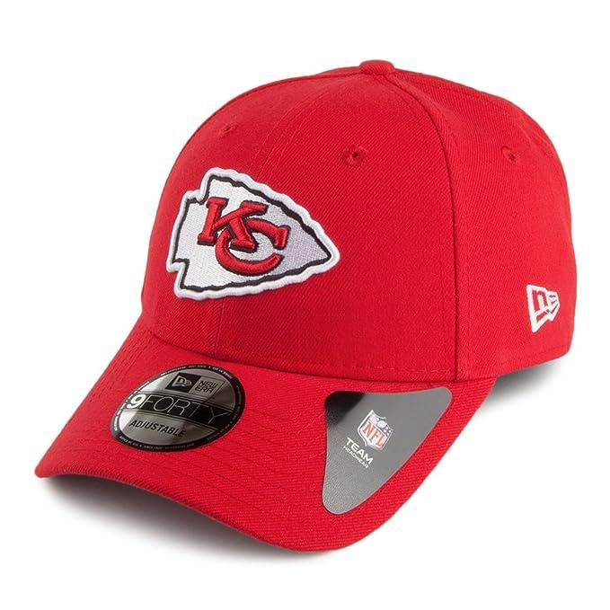 ca887572f7305 Gorra béisbol 9FORTY League Kansas City Chiefs New Era - Rojo - Ajustable   Amazon.es  Ropa y accesorios