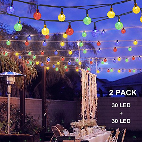Bamboo Patio Lights String - 9