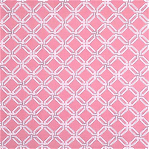 Robert Allen Swatch Sample Fabric Upholstery Drapery Road Maze Carnation Pink EE14