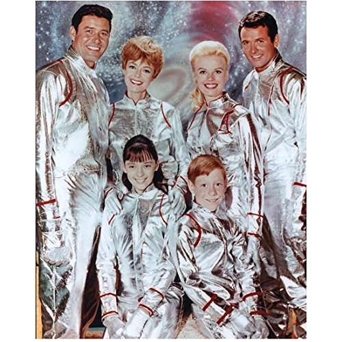 Lost in Space (1965) 8 x 10 Photo Cast Photo in Silver Suits kn