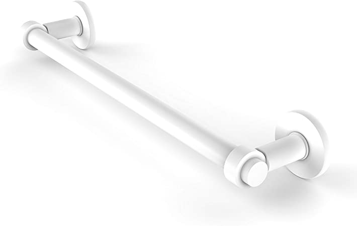 Allied Brass 2051//18-WHM Continental Collection 18 Inch Towel Bar Matte White