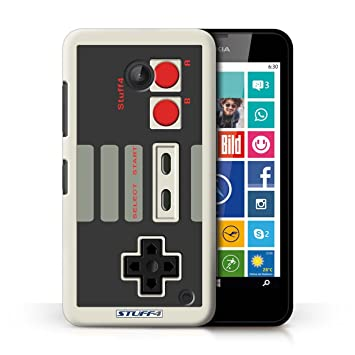 Carcasa/Funda STUFF4 dura para el Nokia Lumia 630 / serie: Consola de juegos - Nintendo clásica