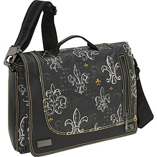 Hadaki Grab & Go Messenger Bag, Fleur De Lis