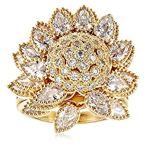 Women's Copper Fashion Ring - 19, 7180112019