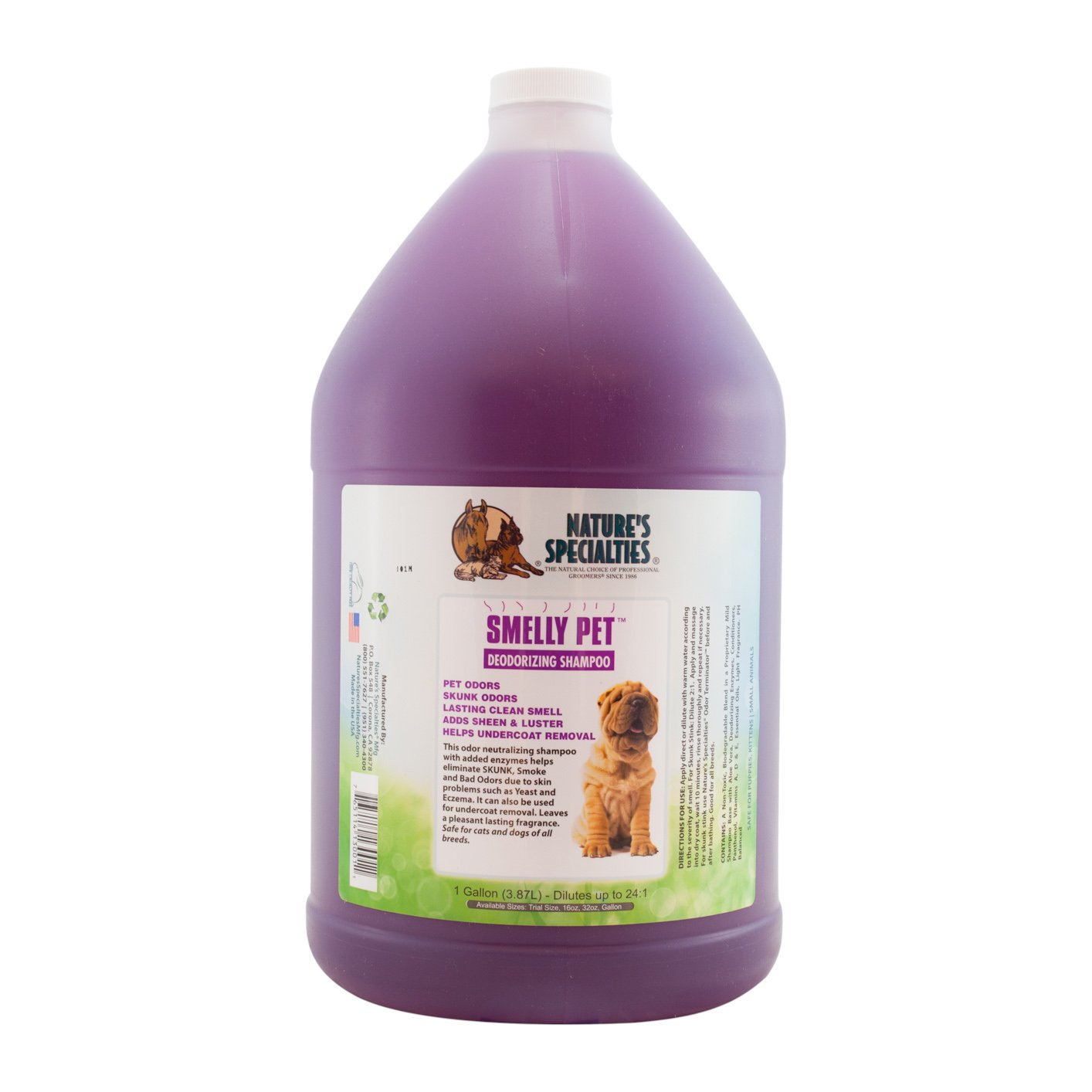 Nature's Specialties Smelly Pet Shampoo by Nature's Specialties Mfg