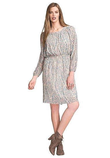 603e14ec75432 Bargain Catalog Outlet Roamans Plus Size Short Peasant Dress at Amazon  Women s Clothing store