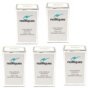 Amazon.com : Lot of 5 NAILTIQUES After Artificial Treatment 3x1/4 oz ...