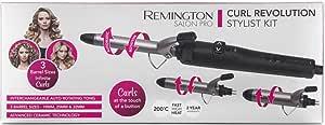 Remington Curl Revolution Curling Iron Stylist Kit
