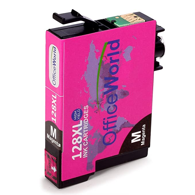 OfficeWorld Reemplazo para Epson T1282 T1283 T1284 Cartuchos de tinta (3 Cian, 3 Magenta, 3 Amarillo) Compatible para Epson S22 SX125 SX130 SX230 SX235W ...
