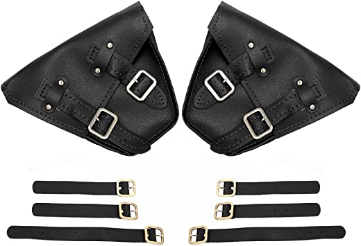 Left/&Right Fairing Black Saddle Bags For Honda 2017-2018 Rebel CMX 300 500 Models