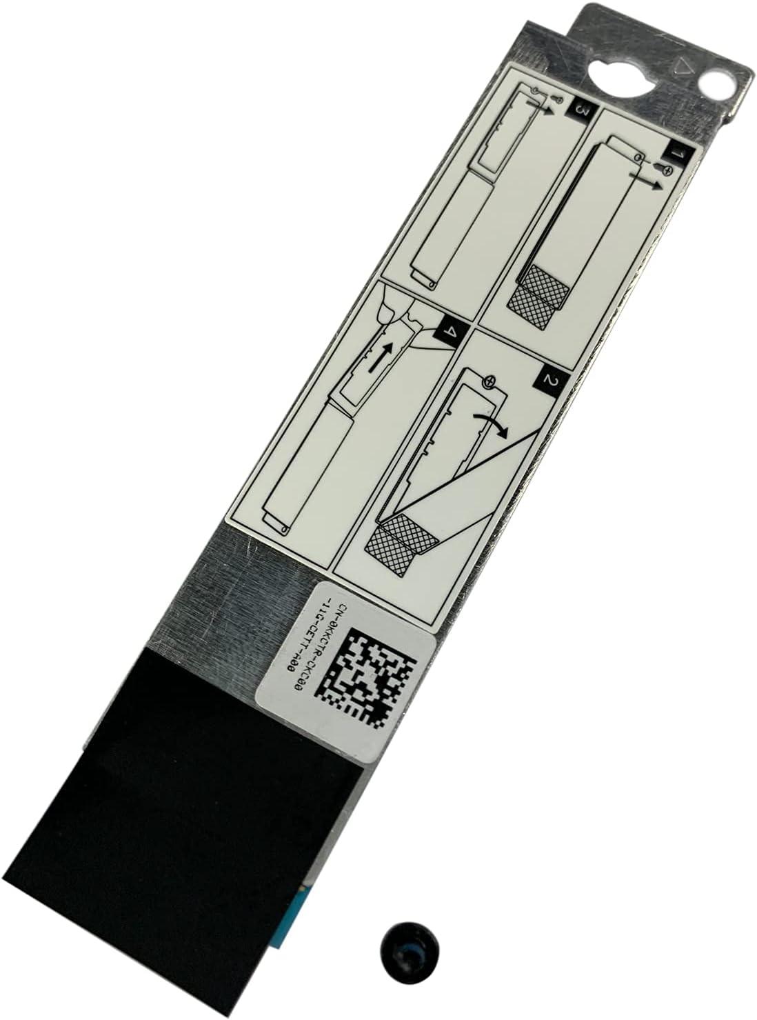 BestParts M.2 Shield Caddy for DELL G7 15 7500 17 7700 M.2 2280 NVME SSD Bracket KKCTR 0KKCTR US