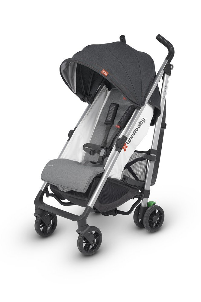 2018 UPPAbaby G-Luxe Stroller – Jordan Charcoal Silver