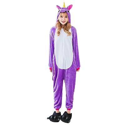 Babyonlinedress Adulte Unisexe Combinaison Pijama Pyjama Onesie Outfit Nuit Anime Animal Costume Cosplay Soirée de Déguisement