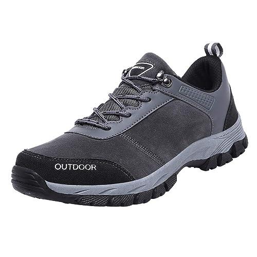 Hombre Seguridad Zapatos De Al Gamuza Hombres Para XZuTOkPi