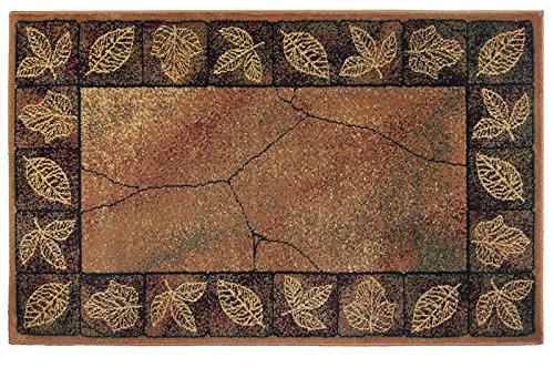 (Goods of the Woods HIGH Country Leaf Hearth Rug)