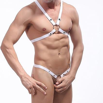 TOOGOO Juguete de Lenceria Atractiva de Moda para Hombre Chaleco de Deporte Sexy Ropa interior de