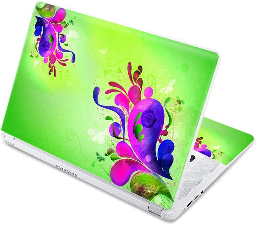 """MightySkins Skin Compatible with Acer Chromebook 15 15.6"""" (2017) - Pastel Flourishes 