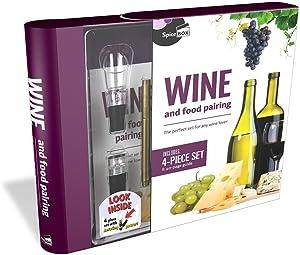 SpiceBox Wine & Food Pairing Kit, Gift Set