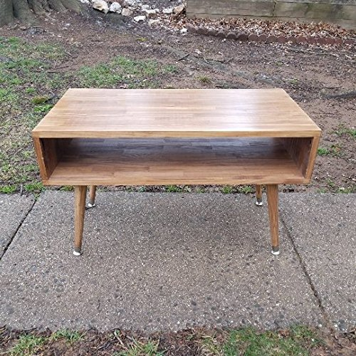 Danish Modern Coffee Table - Mid century modern coffee table, wood table, rustic table, wooden coffee ta