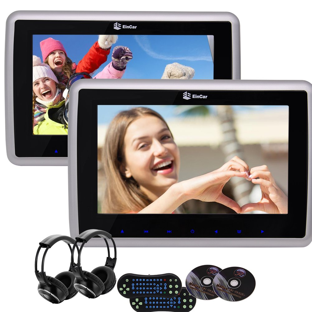 車載用ヘッドレストDVDプレーヤー 9インチHDデジタルTFT LCDスクリーン付き IRヘッドホン HDMIポート+リモコン USB/SD タッチモニター 2 PCSヘッドレストモニター 調節可能なデザイン HDMIモニタースクリーン-2個 in パッケージ車載用ヘッドレストDVDプレーヤー 9インチHDデジタルTFT LCDスクリーン付き IRヘッドホン HDMIポート+リモコン USB/SD タッチモニター 2 PCSヘッドレストモニター 調節可能なデザイン HDMIモニタースクリーン-2個 in パッケージ B073TX8FM5