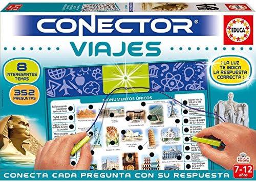 Educa- Conector Viajes: Aprende sobre curiosidades del Mundo Juego ...
