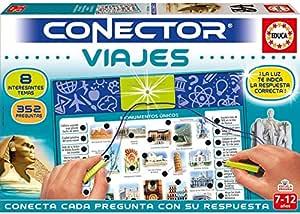 Educa- Conector Viajes: Aprende sobre curiosidades del Mundo Juego Educativo para niños, a Partir de 7 años (17704): Amazon.es: Juguetes y juegos