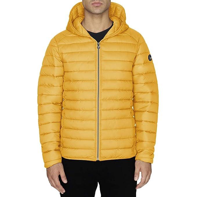 Chaqueta Hombre TWIG Ultralight Jacket 100gr Ultra Ligera Abrigo Parka Capucha Yellow (M)