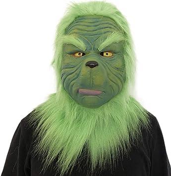 Máscara de Látex Para Disfraz de Halloween, Diseño de Cara de ...
