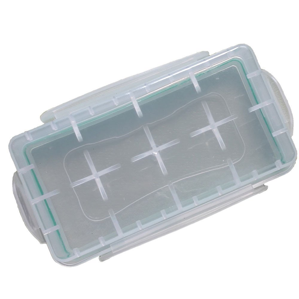 Sayingning 3 PCS Waterproof Dustproof Battery Case Holder Storage Box for 18650 CR123A 16340 Battery