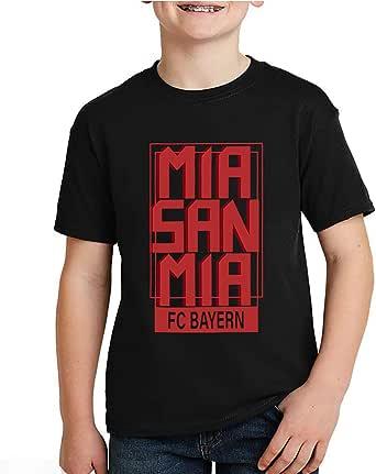 kharbashat Bayern Munich T-Shirt for Boys, Size 38 EU