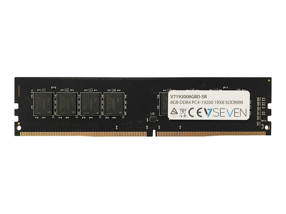 Memoria RAM 8GB V7 V719200 D-SR 8GB DDR4 PC4_19200 2400MHZ DIMM Module