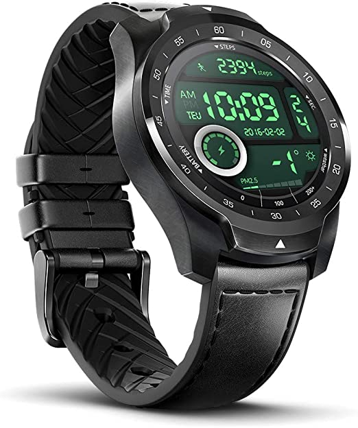 TicWatch Pro Fitness Tracker| Best Outdoor Watch for Men products of Mobvoi