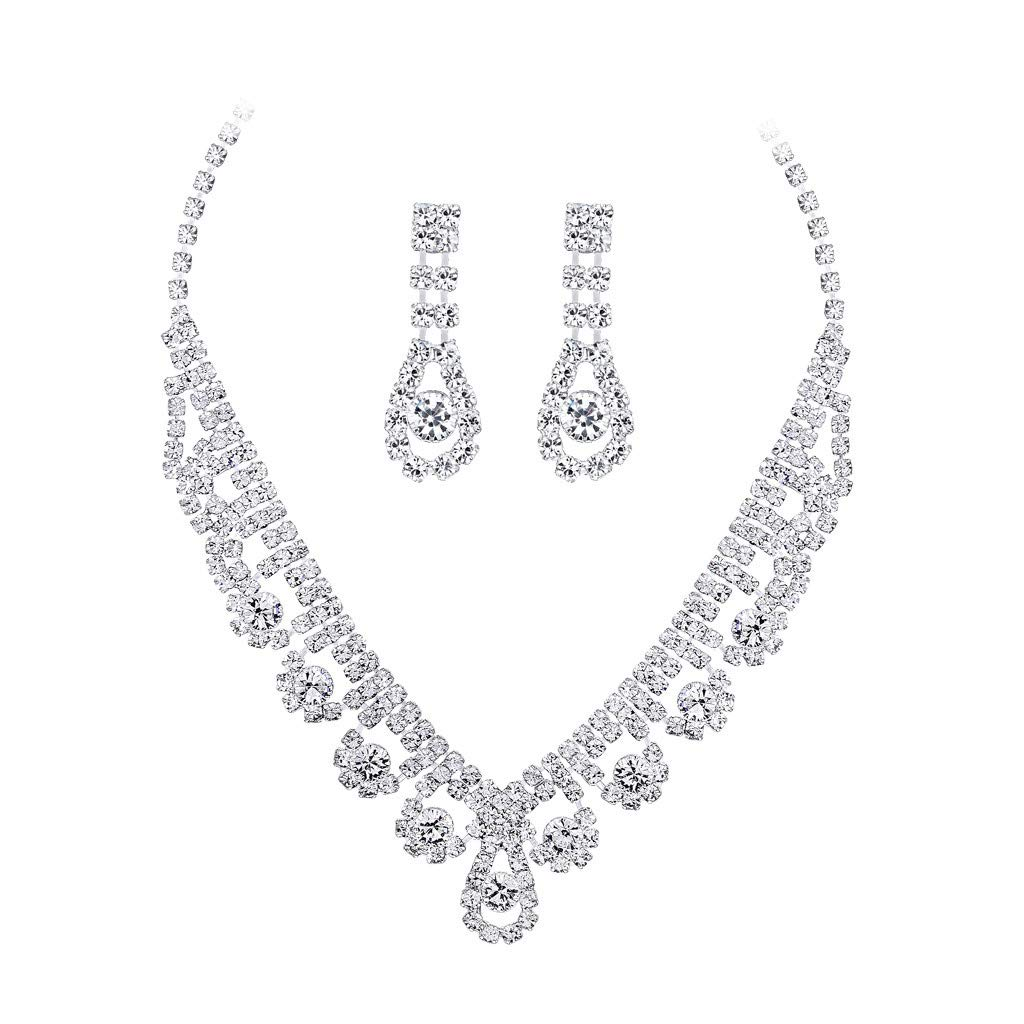 Waterdrop Diamond Necklace Jew...