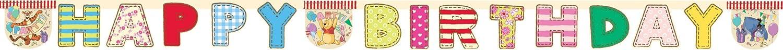 Amscan Winnie Alphabet Illustrated Banner