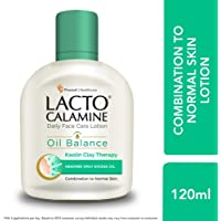 Lacto Calamine Face Lotion for Oil Balance - Combination to Normal Skin - 120 ml