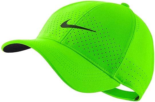 Nike AV6953 Gorra, Unisex Adulto, Electric Green/Black, MISC ...