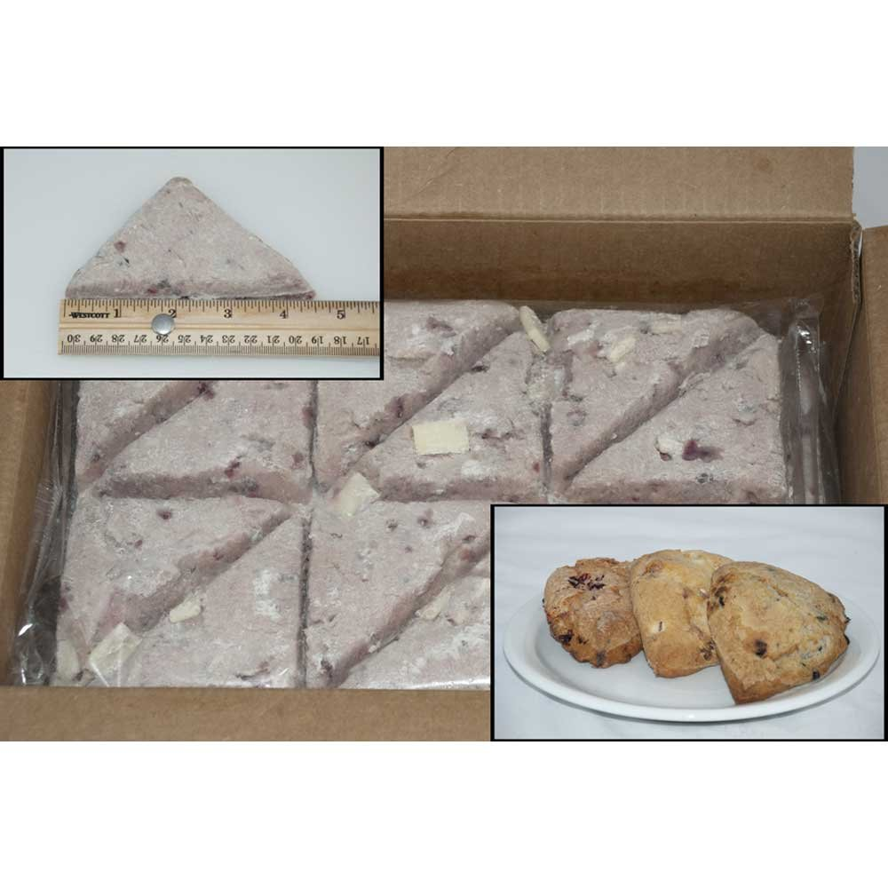 Pillsburry Freezer to Oven Fruit Variety Pack Scone 3.75 ounce each -- 96 per case.