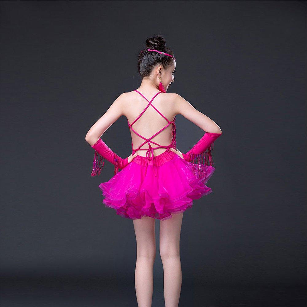 ZEVONDA De moda Trajes De de 19933 moda baile latino niñas ...