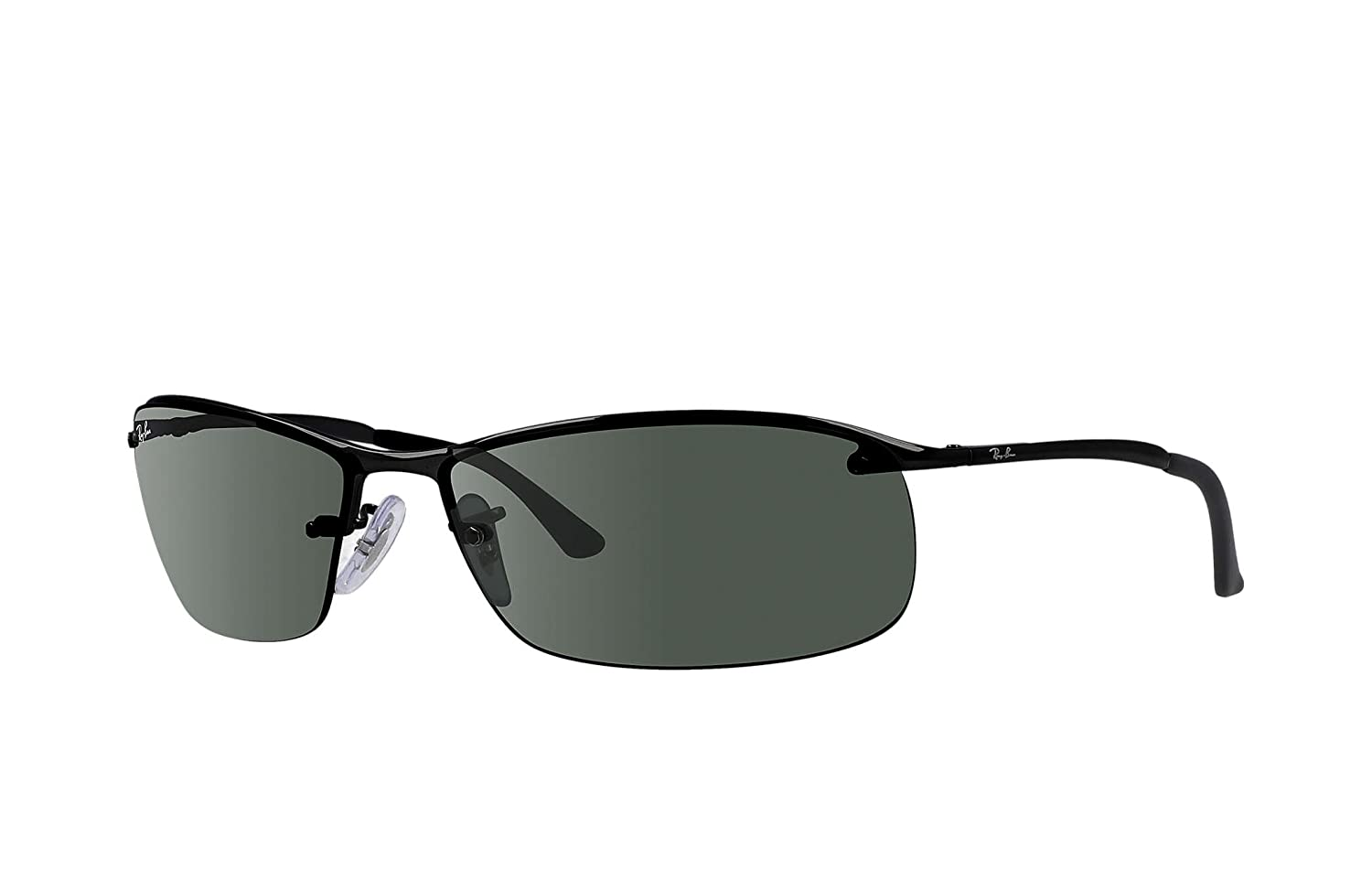 Amazon.com: Ray-Ban RB 3183 Barra Superior cuadrado anteojos ...