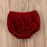 Kids Toddler Infant Unisex Soft Velvet Bottoms Baby Boy Girls Shorts Briefs Diaper Cover Bloomers